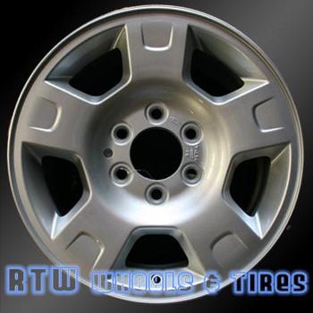 17 inch Ford F150  OEM wheels 3553 part# 4L3Z1007FA, 4L341007FB