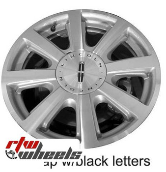 18 inch Lincoln MKX  OEM wheels 3676 part# 7A131007AA, 7A131007AB, 7A131007AC,  8A131007DA