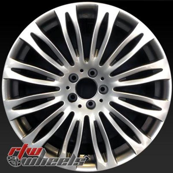 20 inch Mercedes S Class  OEM wheels 85504 part# 2224011702, 22240117027X77