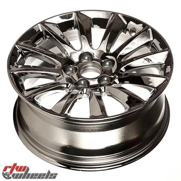 """Chrysler 300 Wheels 2012-2013. 17"""" Chrome Rims 2417"""