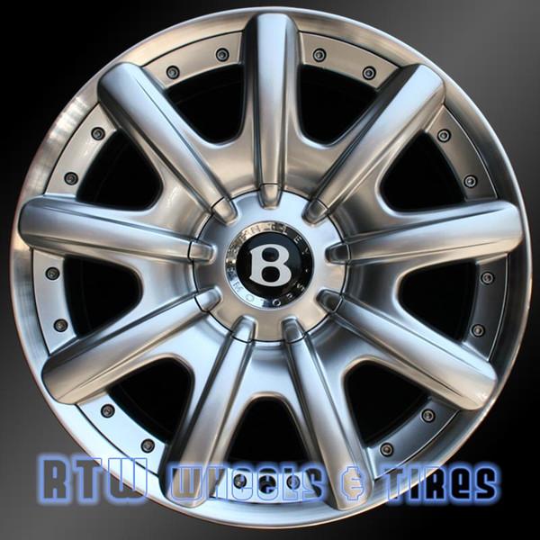 Bentley Continental Oem Wheels 2004-2008 Machined 98726
