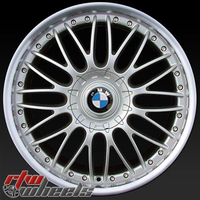 19 Quot Bmw 3 Series 2 Piece Wheels For Sale 2006 2013 Silver