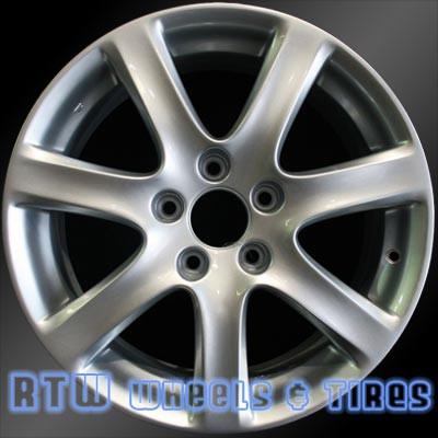 Acura TSX Oem Wheels Silver - Acura oem wheels