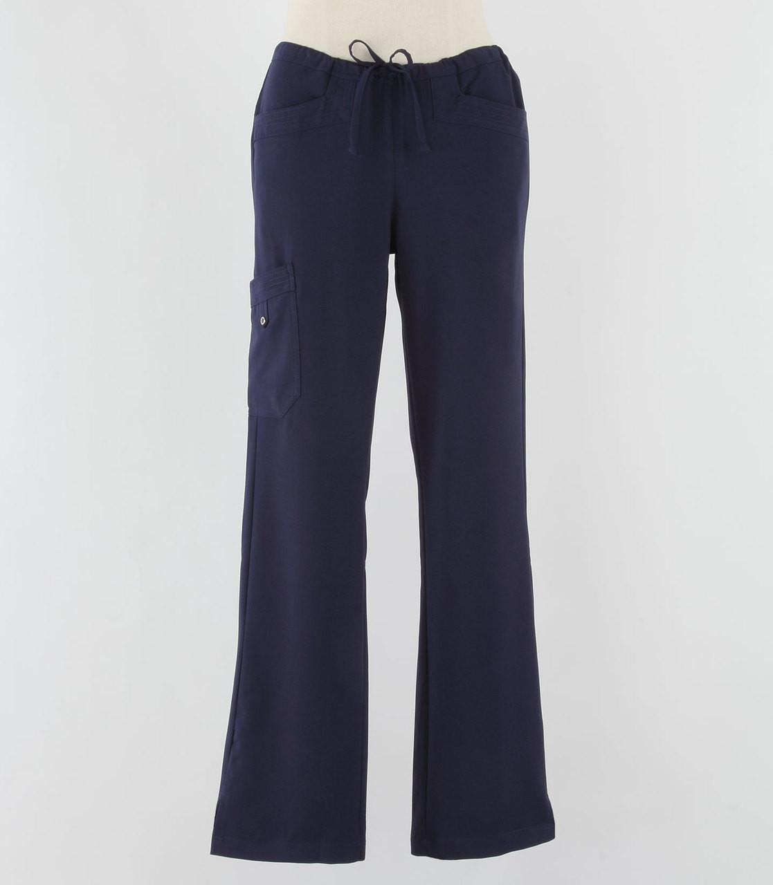 Greys Anatomy Signature Line Womens Scrub Pants Indigo - Petite ...