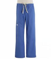 Scrub Med Mens Drawstring Scrub Pants Bimini Blue
