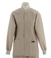 Scrub Med ROM Lab Jacket Khaki