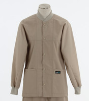 Scrub Med ROM Lab Jacket Putty (ScrubLite)