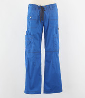 Dickies Gen Flex Womens Cargo Scrub Pants Royal - Tall