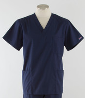 Cherokee Workwear Originals Unisex Scrub Top Navy