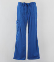 Cherokee Workwear Core Stretch Womens Cargo Scrub Pants Royal - Petite