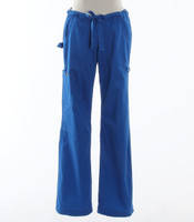 Koi Womens Scrub Pants Lindsey Cut Royal - Petite