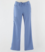 Greys Anatomy Signature Line Womens Scrub Pants Ciel - Petite
