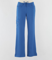Greys Anatomy Signature Line Womens Scrub Pants New Royal - Petite