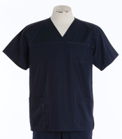 Carhartt Mens Scrub Top with Pockets Navy
