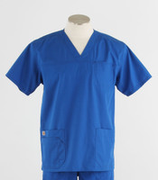 Carhartt Mens Scrub Top with Pockets Royal