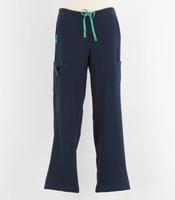 Carhartt Womens Cross Flex Boot Cut Scrub Pants Navy
