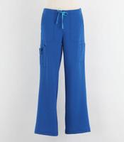 Carhartt Womens Cross Flex Boot Cut Scrub Pants Royal - Petite