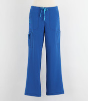 Carhartt Womens Cross Flex Boot Cut Scrub Pants Royal - Tall