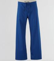 Maevn Unisex Seamless Drawstring Scrub Pants Royal - Tall