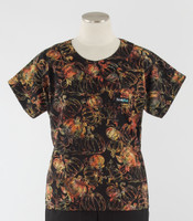 Scrub Med Womens Print Scrub Top Bippity - Original Price: $31.00 - ALL SALES FINAL!