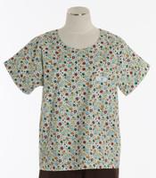 Scrub Med Womens Print Scrub Top Tiny Bubbles - Original Price: $31.00 - ALL SALES FINAL!