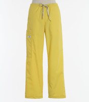 Scrub Med Womens Drawstring Scrub Pants Lemonade - Original Price $33 - ALL SALES FINAL!