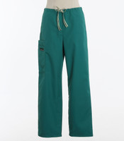 Scrub Med Womens Drawstring Scrub Pants Teal - Original Price $33 - ALL SALES FINAL!