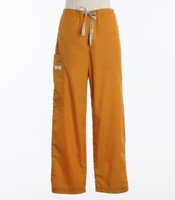 Scrub Med Womens Drawstring Scrub Pants Pumpkin (ScrubLite) - Original Price $33 - ALL SALES FINAL!