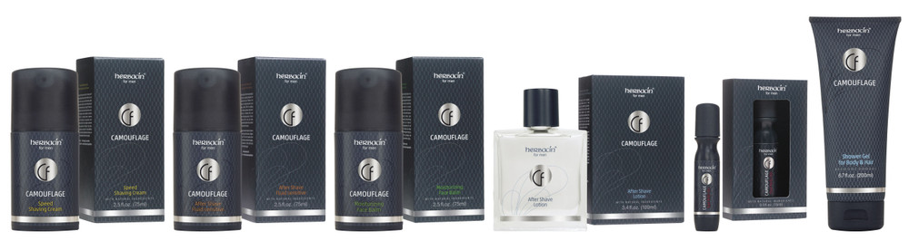 Herbacin Launches New Camouflage Line Of Men's Grooming Products In the U.S.