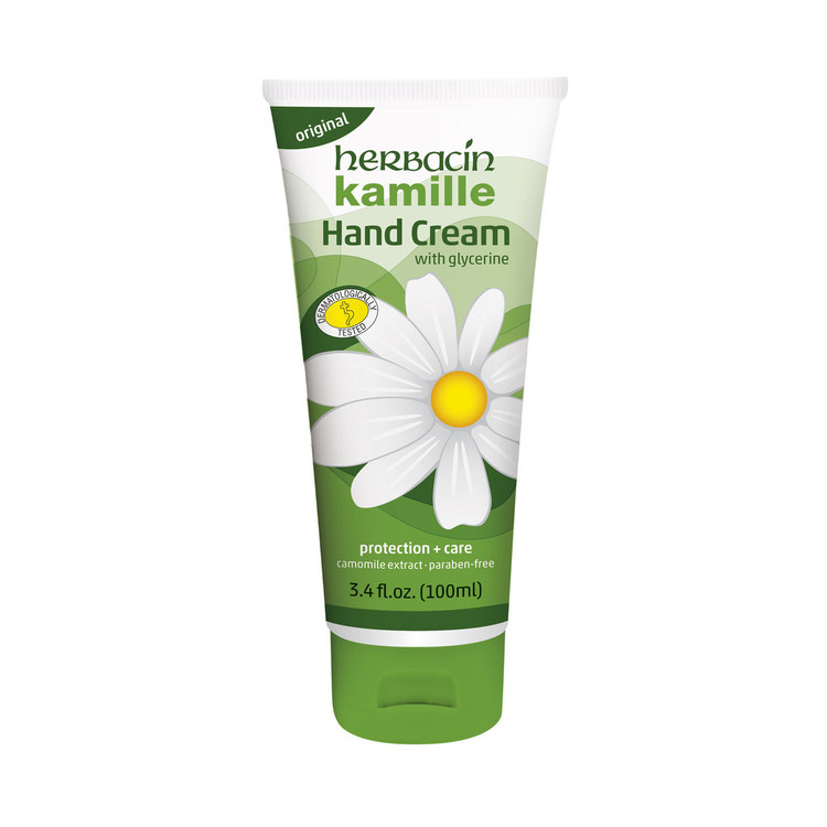 Herbacin kamille Hand Cream - flip-top tube 3.4 fl.oz.
