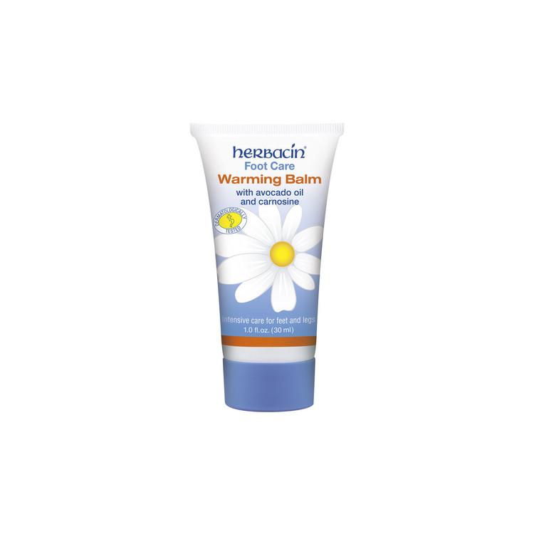 Herbacin Foot Care Warming Balm - tube 1.0 fl.oz.