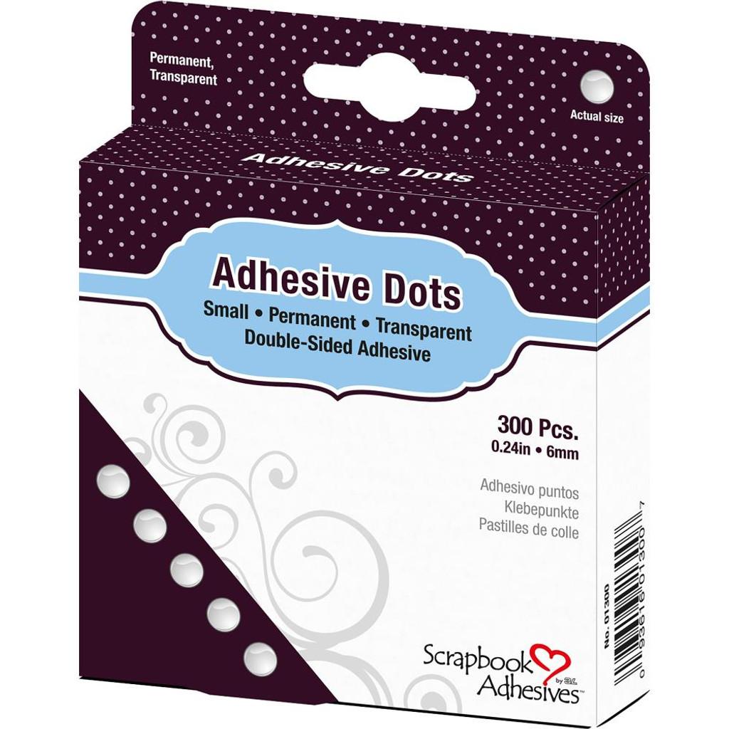 """Small .25"""" 300/Pkg - Dodz Adhesive Dot Roll - Scrapbook Adhesives"""