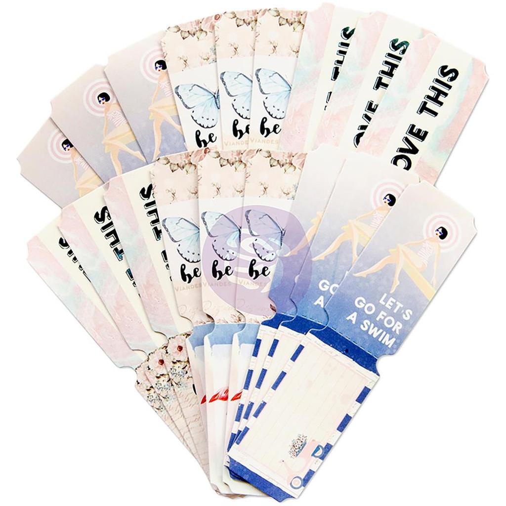 Prima - Santorini Frank Garcia - Die-Cut Paper Tickets - 36 pieces