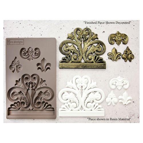 Prima Re-Design Iron Orchid Art Decor Moulds - Bridgeport Irongate