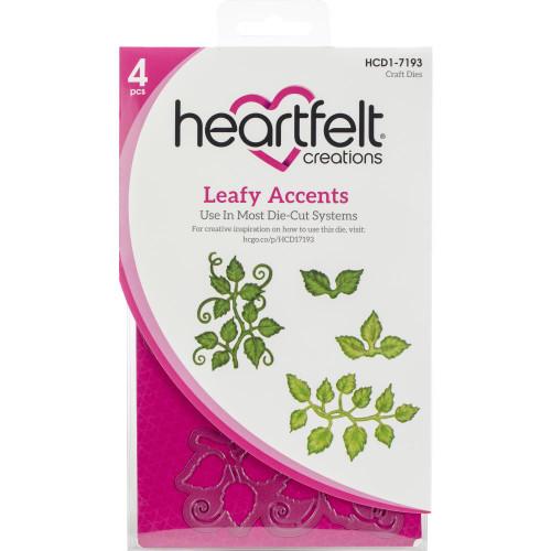 Heartfelt Creations - 3D Leafty Accents - Die-Cut Set