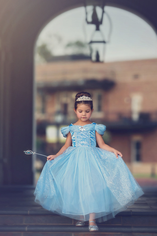 """QUEEN OF THE KINGDOM PRINCESS DRESS COSTUME"""