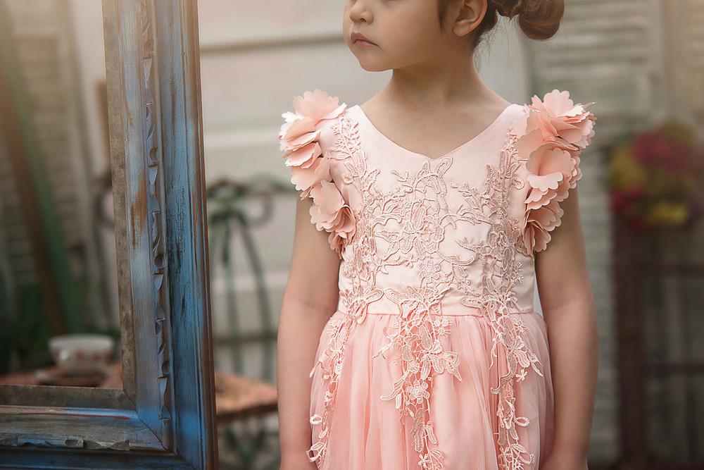 BIANCA GOWN BLUSH PINK'""