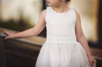"""""""""""""DELPHINE DRESS- WHITE"""""""""""""