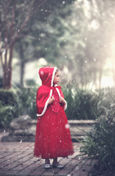 """""LITTLE RED RIDING HOOD COSTUME"""""