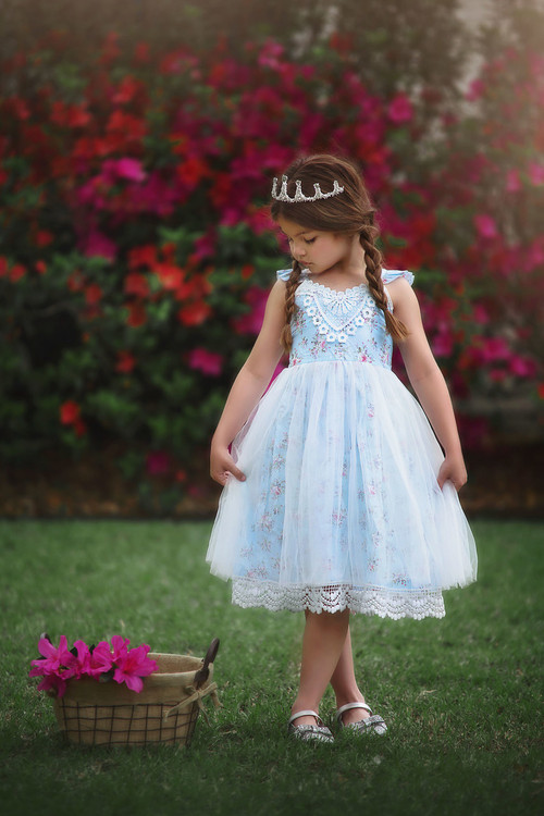 """""""""""""""PENELOPE DRESS BLUE"""""""""""""""