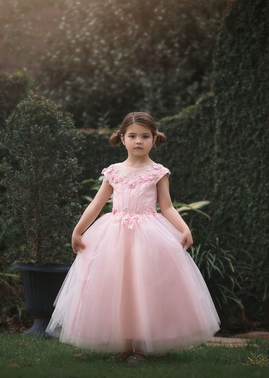 """""""""""""""""""""""""""""""""""MAGDALENE BALL GOWN PINK"""""""""""""""""""""""""""""""""""