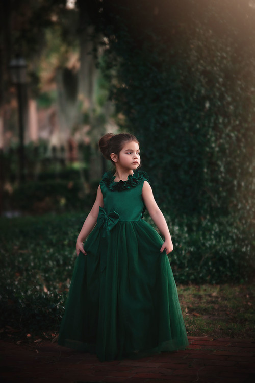 AERALINA GOWN EMERALD
