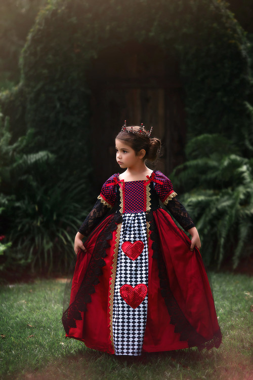 """QUEEN OF HEARTS GOWN"""