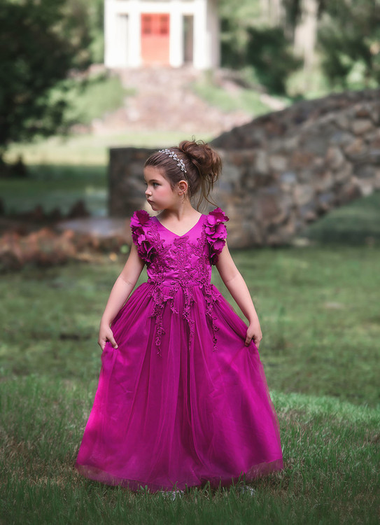 BIANCA GOWN BERRY