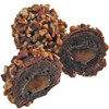 Caramel Pecan:  If you like caramel, chocolate and pecans, you'll love our Caramel Pecan Dessert Truffles!  We have wrapped smooth chocolate cake around a sweet, creamy caramel center. Then, after drenching it in 60 % Dark Chocolate, it is rolled in crunchy, toasted pecans. One bite and you'll be hooked!