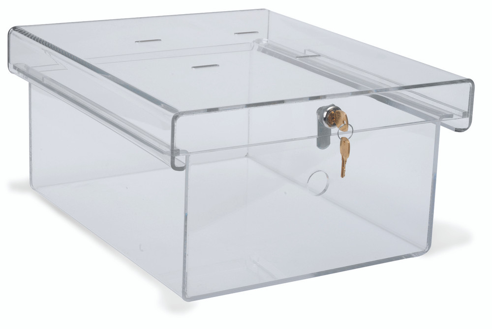 Clear Acrylic Refrigerator Lock Boxes