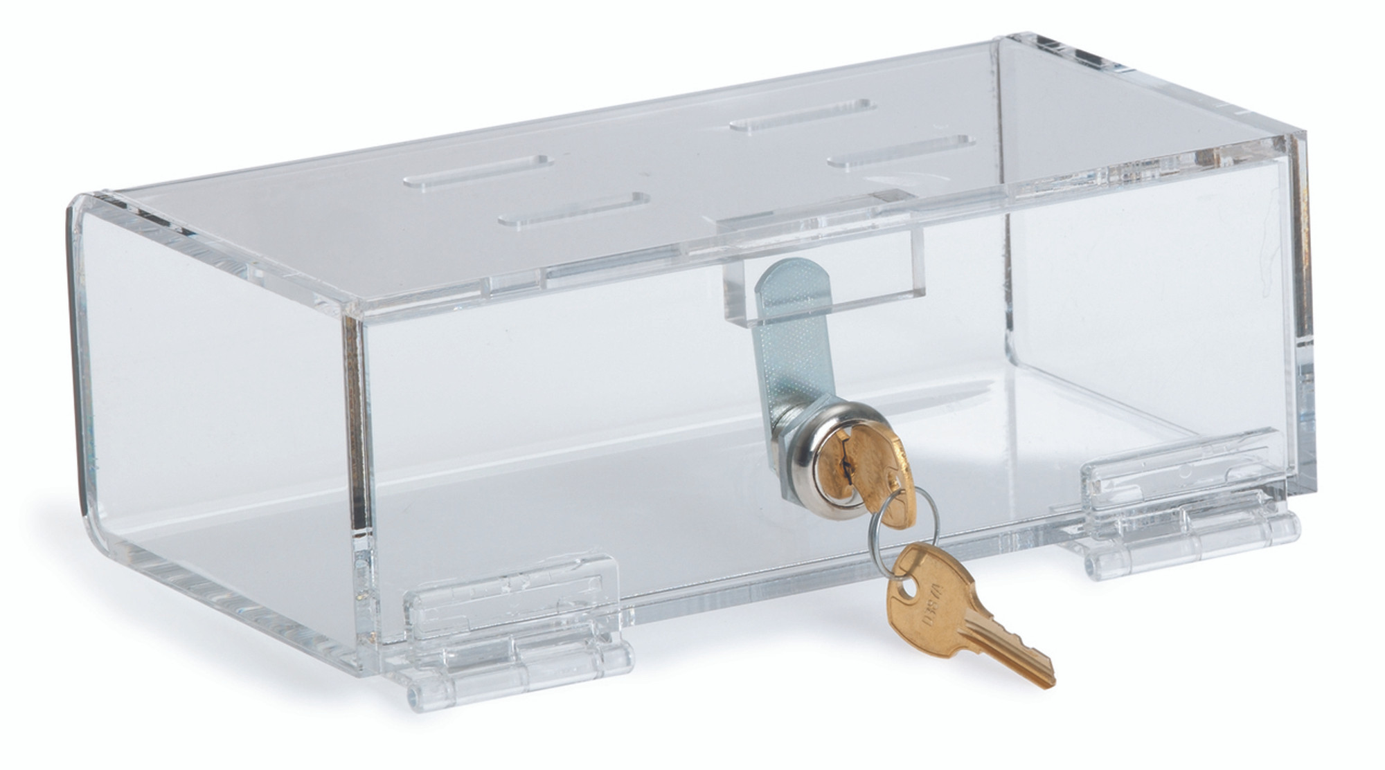 Clear Acrylic Refrigerator Lock Box (Size & Lock Options Available ...