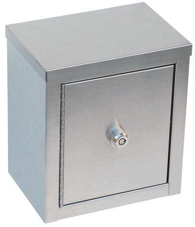 "Mini Double Door Narcotic Cabinet (9""H X 8""W X5 5⁄8""D)"