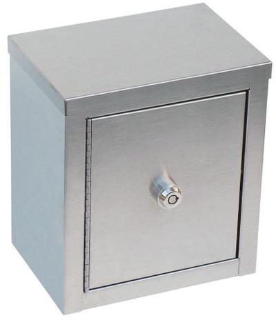 "Mini Double Door Narcotic Cabinet (9""H X 8""W X5 5⁄8""D)"