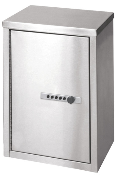 "Double Door Narcotic Cabinet With Keyless Combo Lock (15""H X 11""W X 8""D)"